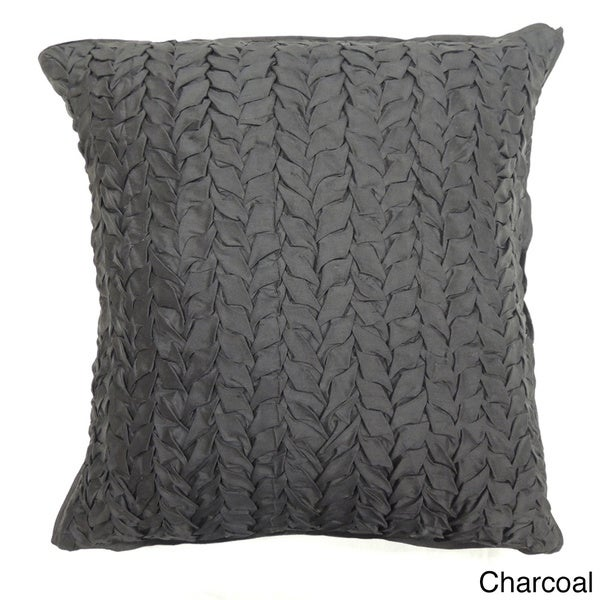 Gianna Quilted 18-inch Silk Decorative Pillow. Opens flyout.