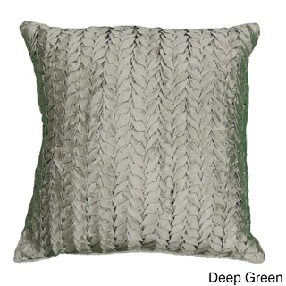 Gianna Quilted 18-inch Silk Decorative Pillow