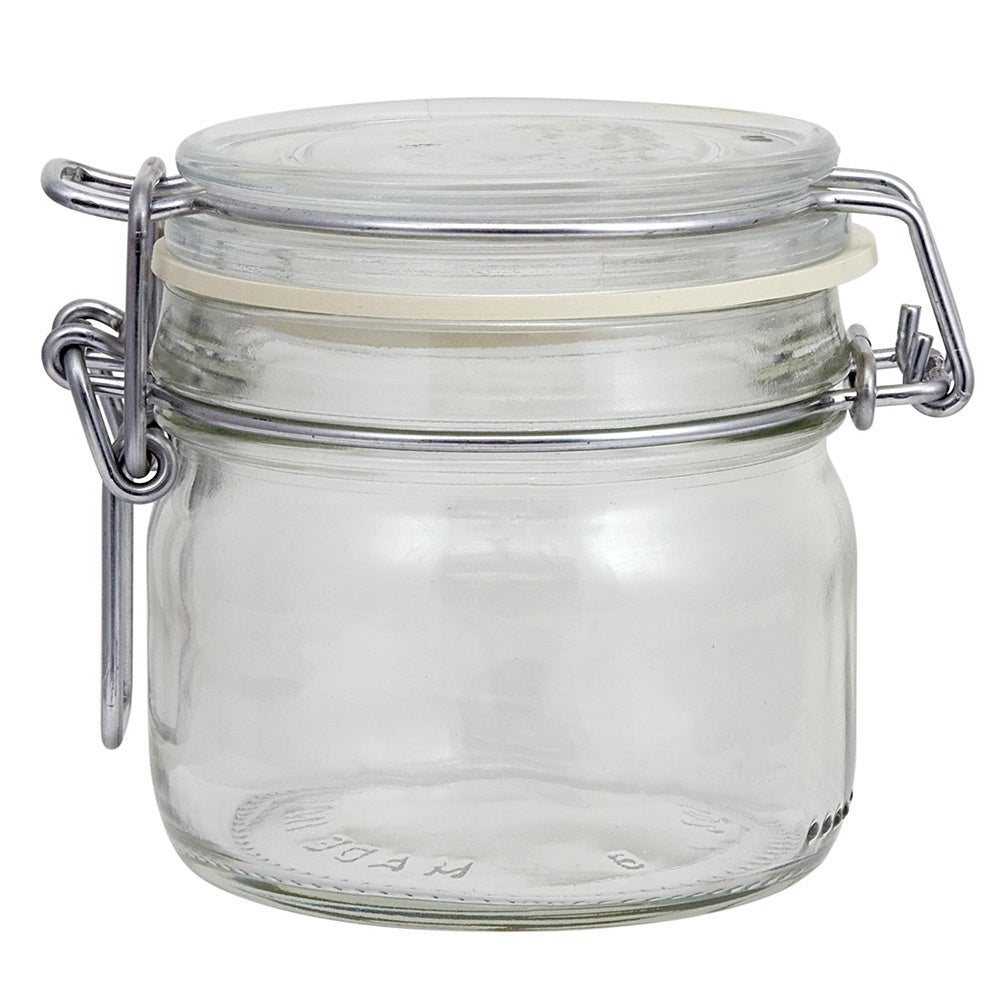 Mrs. Meyer's Glass Clamp Lid Jar (Jar (Set of 2))