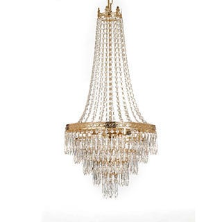 Gallery Empire Style 4-light Gold Chandelier