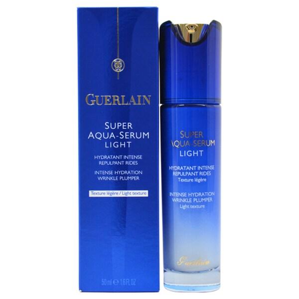 guerlain super aqua light intense hydration wrinkle. Black Bedroom Furniture Sets. Home Design Ideas
