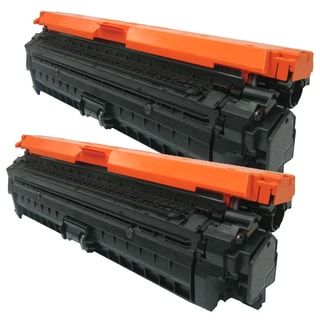 HP CE270A (HP 650A) Compatible Black Toner Cartridge (Pack of 2)