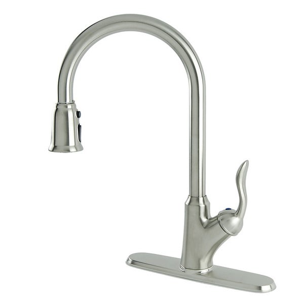 Shop Fontaine Francesca Stainless Steel Single Handle Pull