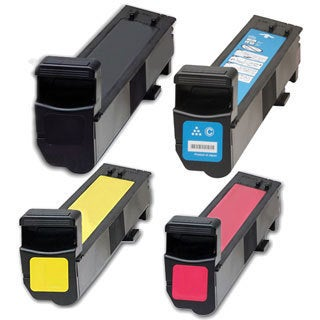 HP CB380A (HP 823A, 824A) Compatible Black Cyan Yellow Magenta 4-piece Toner Cartridge Set