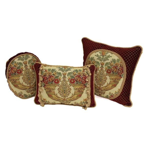 Sherry Kline Corona Decorative Pillows (Set of 3)