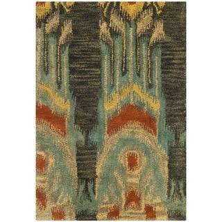 Safavieh Handmade Ikat Alyssia Modern Wool Rug