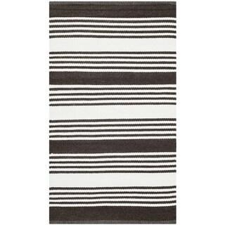 Safavieh Indoor/ Outdoor Thom Filicia Brown Plastic Rug (2'6 x 4') - 2'6 x 4'