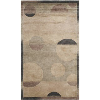 Safavieh Hand-knotted Tibetan Modern Multicolored Wool Rug (3' x 5')