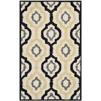 Safavieh Contemporary Handmade Moroccan Chatham Ivory Wool Rug - 4' x 6'