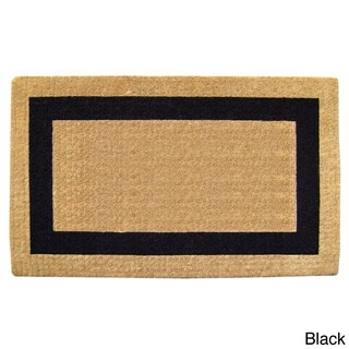 Heavy-Duty Coir Single Picture Frame Doormat (18 in. x 30 in.)