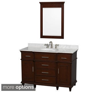 Wyndham Collection Berkeley Single 48-inch Vanity