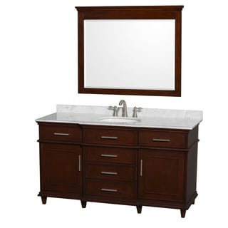 Wyndham Collection Berkeley Single 60-inch Vanity