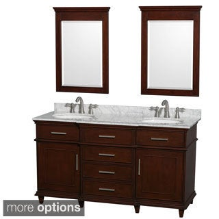 Wyndham Collection Berkeley 60-inch Double Vanity