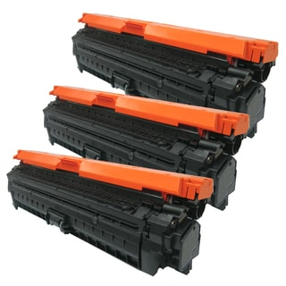 HP CE270A (HP 650A) Compatible Black Toner Cartridge (Pack of 3)