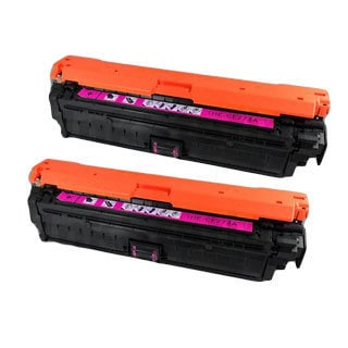 HP CE273A (HP 650A) Compatible Magenta Toner Cartridge (Pack of 2)