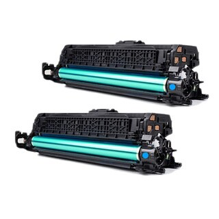 HP CF031A (HP 646A) Compatible Cyan Toner Cartridges (Pack of 2)