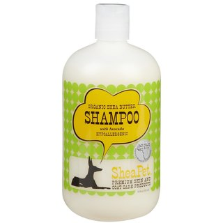 SheaPet Hypoallergenic Organic Shea Butter with Avocado 18-ounce Pet Shampoo