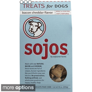 Sojos 100-percent Natural 10-ounce Dog Treats