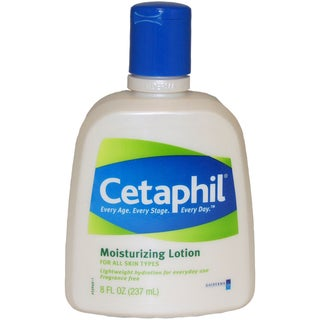 Cetaphil All Skin Types 8-ounce Moisturizing Lotion