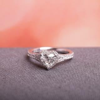 Miadora Signature Collection 14k White Gold 1ct TDW Heart Diamond Ring https://ak1.ostkcdn.com/images/products/8666622/Miadora-14k-White-Gold-1ct-TDW-Heart-Diamond-Engagement-Ring-G-H-I1-I2-P15924176.jpg?impolicy=medium