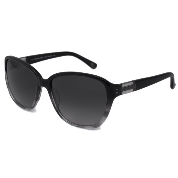 Michael Kors Women's Black MKS237 Baillie Cat-Eye Sunglasses