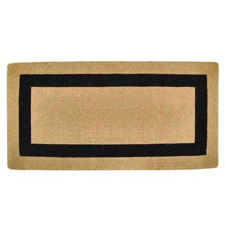 Heavy Duty Coir Single Picture Frame Door Mat (3 options available)