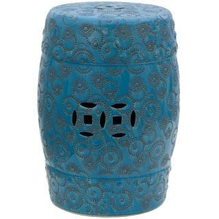 Handmade Spherical Design Porcelain Garden Stool (China)