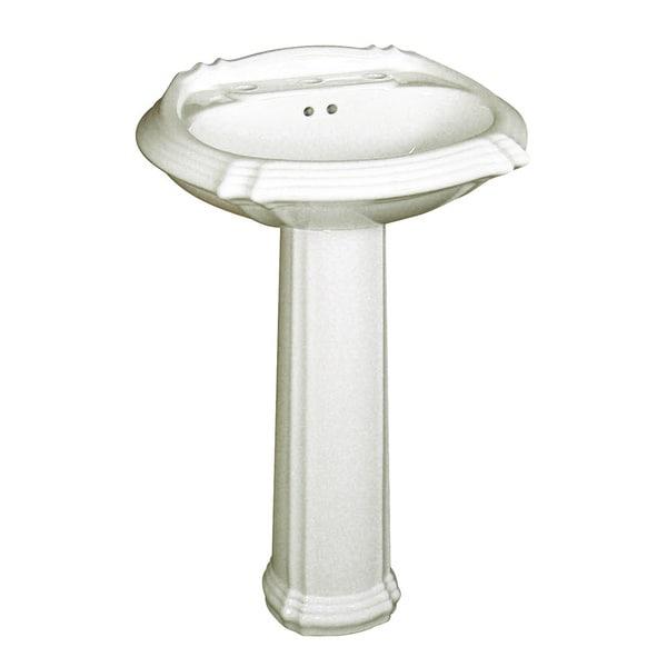 Shop Fine Fixtures Ceramic Biscuit 8 Inch Spread Pedestal