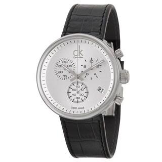 Calvin Klein Men's Stainless Steel Chronograph Watch