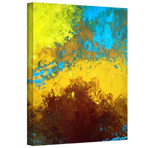 Herb Dickinson 'Abstract 419' Gallery-wrapped Canvas - Multi