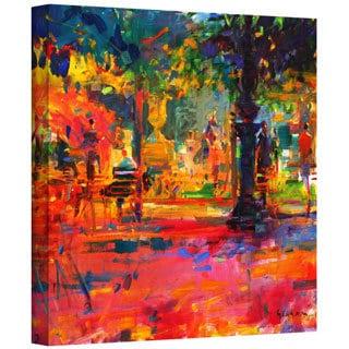 Peter Graham 'La Terrasse du Jardin' Gallery-wrapped Canvas
