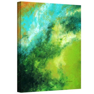 Herb Dickinson 'Hawaiian Morning Z' Gallery-wrapped Canvas