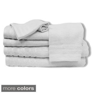 Amrapur Overseas Rayon from Bamboo 6-piece Towel Set