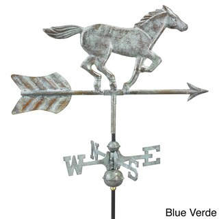 Good Directions Horse Copper Garden Weathervane