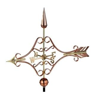 Good Directions Victorian Arrow Copper Garden Weathervane