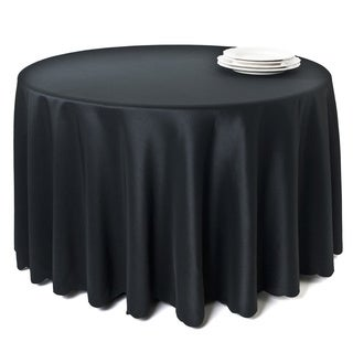 Tablecloth Liners With Satin Sheen and Scalloped Edge
