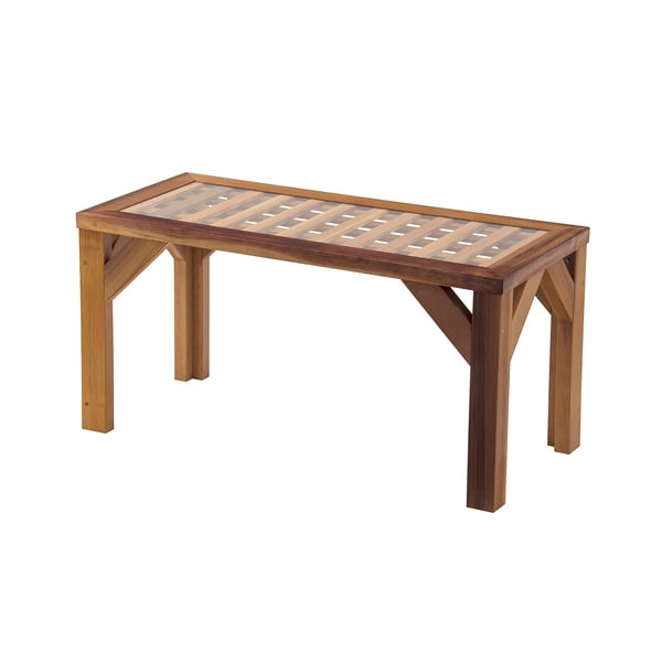 Cedar Lattice Coffee Table