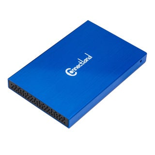 SYBA Multimedia Drive Enclosure External - Blue