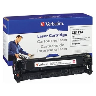 Verbatim HP CE413A Magenta Remanufactured Laser Toner Cartridge - TAA