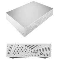 "Seagate Backup Plus STDU2000100 2 TB Portable Hard Drive - 3.5"" External - Silver"
