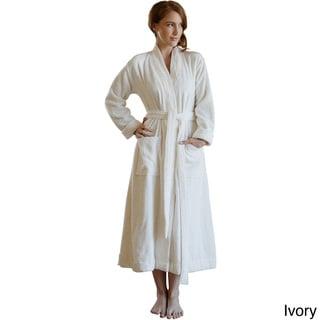 Pleated Hand-woven Turkish Cotton Bath Robe