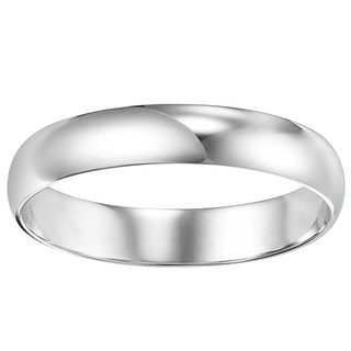 Cambridge Platinum 4 mm Plain Wedding Band
