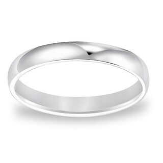 Cambridge Platinum 3-mm Plain Wedding Band