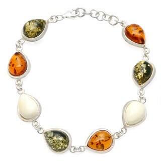 Multi-color Amber Bracelet