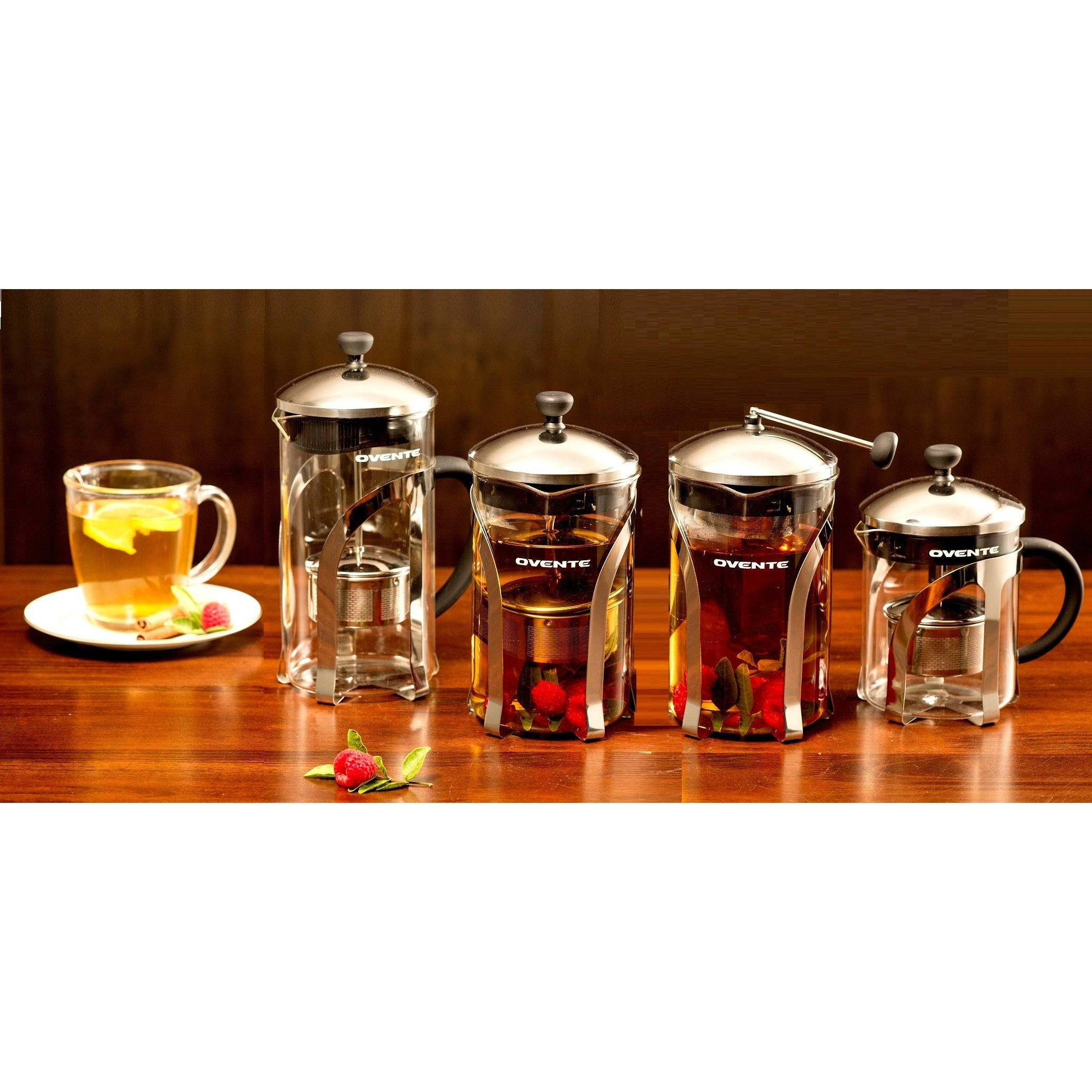 Ovente FGC Series Glass Tea Maker (20 oz), Clear
