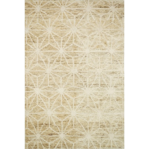Hand Knotted Phoenix Camel Rug - 4' x 6'