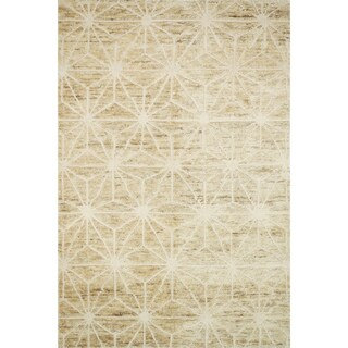 Hand Knotted Phoenix Camel Rug
