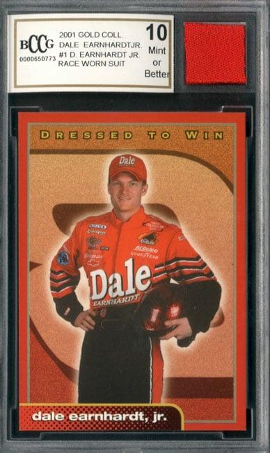 Dale Earnhardt Jr Race Worn Suit Mint 10 GGUM Card