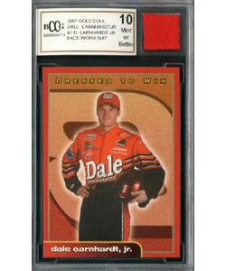 Dale Earnhardt Jr Race Worn Suit Mint 10 GGUM Card