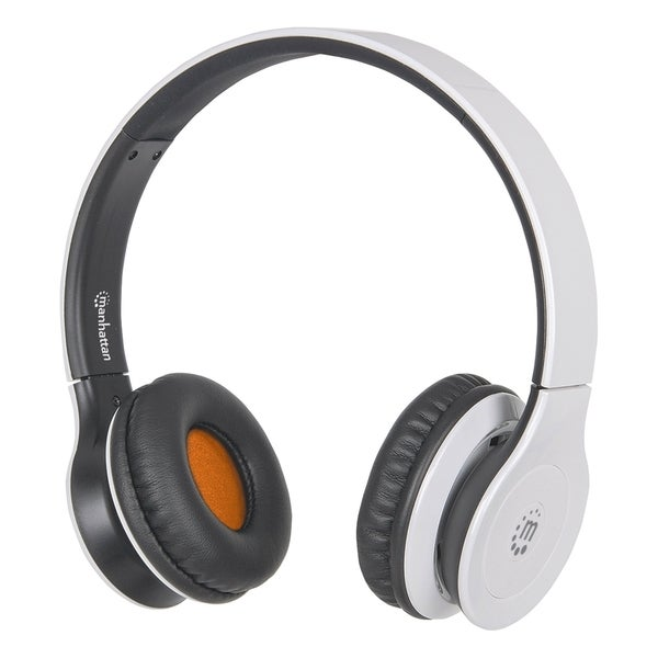 Manhattan Fusion On-Ear Headset with Bluetooth Technology, White